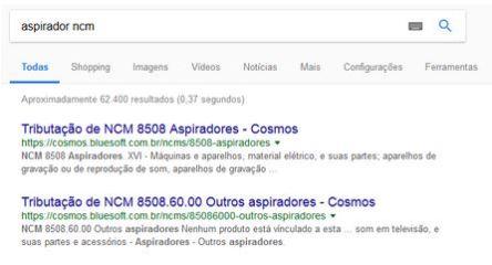 aspirador ncm google