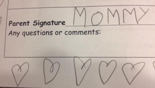 Assinatura falsificada