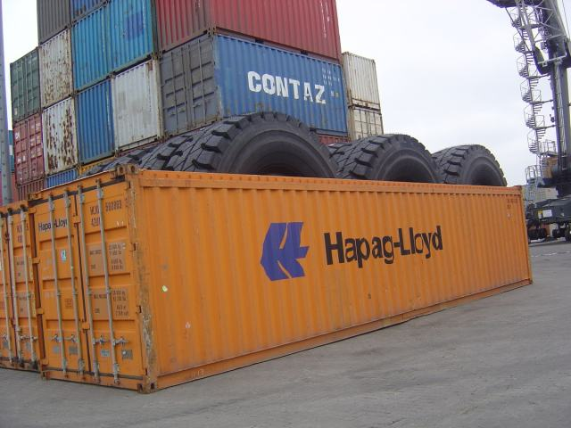 container Open Top 40'