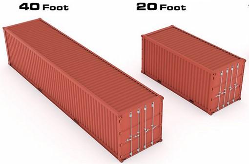 Container Dry Box de 40 e 20 pés.
