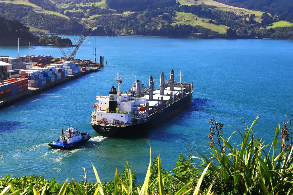 Port Chalmers,, New Zealand