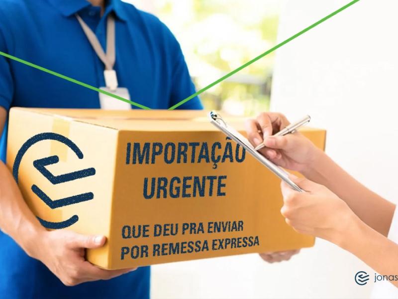 importação remessa expressa