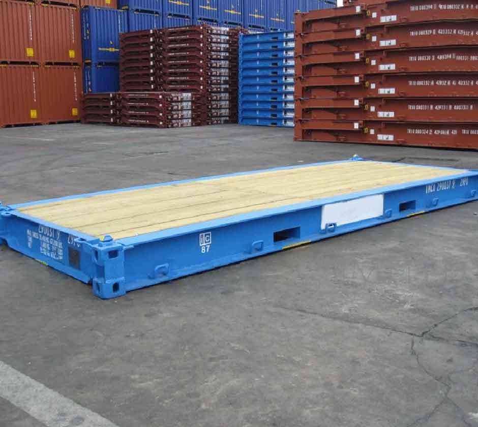 container plataforma / pranchão